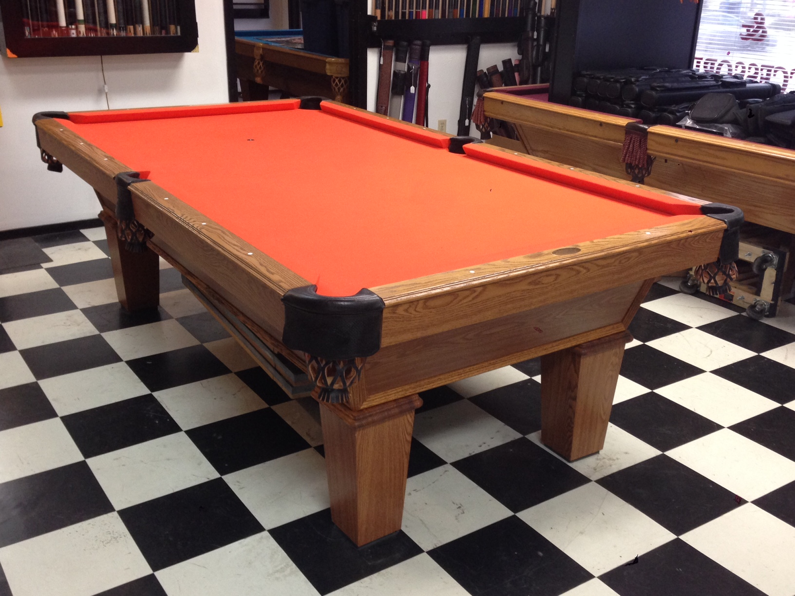 Cl Bailey 7 Foot Pool Table 1 295